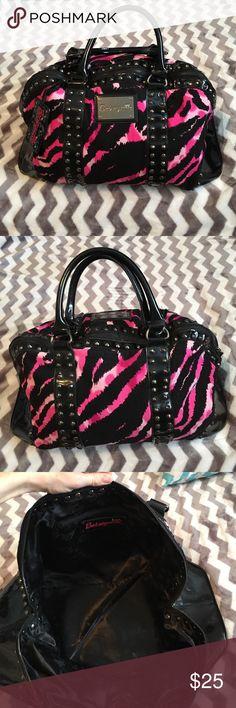 Spotted while shopping on Poshmark: Pink leopard print duffel bag! #poshmark #fashion #shopping #style #Handbags