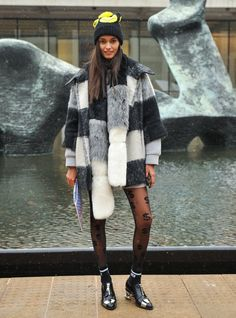 Pin for Later: The Top Models Buddied Up on the Last Day of MFW NYFW Day Three Gizele Oliveira