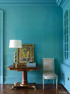 Colorful Rooms - Decorating with Bold Color - Veranda