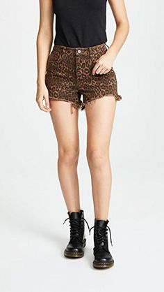 Denim x Alexander Wang Bite Shorts World Of Fashion, Fashion Online, Casual Shorts, Denim Shorts, Cutoffs, Short Styles, Rocker Chic, Rag And Bone, Summer Wardrobe