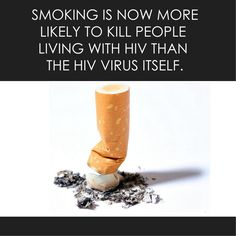 Is smoking now the greatest threat to people living with #HIV?  davidmariner.com/greatestthreat #LGBT #Tobacco