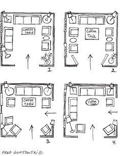 Living Room Layout · Arrange FurnitureFurniture ...