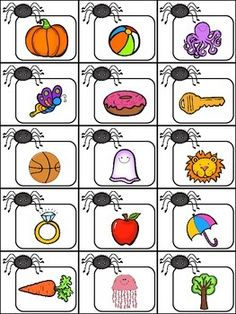 Spider Syllables {Center Activity + Worksheet!}