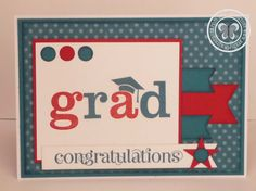 Stampin with Paula: Card Monkey Dynamic Duos Graduation Challenge