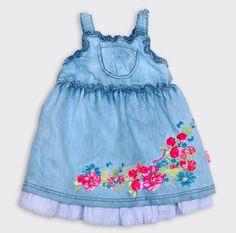 Pampolina'dan kızınıza yaraşır bu kot jile tam bayram sabahına göre! Kidycity.com'da şimdi 89,95 TL yerine 62,97 TL!