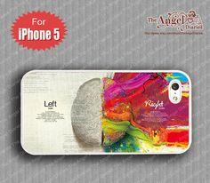 Trending Items etsy  Brain iPhone 5 Case, iPhone 5 Case, iPhone 5 Hard Plastic Case, iPhone Case $8.99 USD TheAngelDiaries