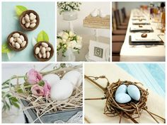 Spring & Garden Theme Favors - Wedding Favors - Bird Theme Eco-friendly Wedding Favors http:favorcouture.theaspenshops.com #birdthemefavors  #wedding #birdsnest #bridalshower