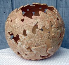 Lynn has been working in clay for quite awhile but lately has been having a yen for fiber. The logical transition was to press fiber into ...