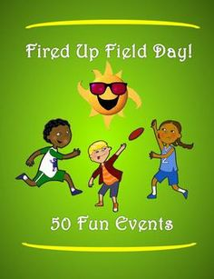 """This packet has fifty, fun and exciting field day events that have been """"battle tested"""" and have been given the seal of approval by many elementary and middle school aged students. This is your """"One Stop Shopping"""" place for creating events for a successful field day."""
