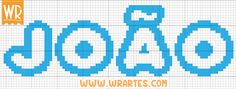 monogramas em ponto cruz letras | Blog do Wagner Reis: Alfabeto LINDO para bebês em ponto cruz