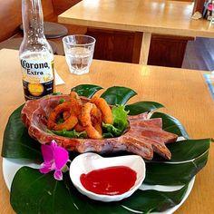 レシピとお料理がひらめくSnapDish - 4件のもぐもぐ - Fried onion rings by Beate Weissenberger