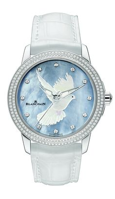A unique piece for Only Watch 2013 BlancpaiN the Women Collection Only Watch 2013 (PR/Pics http://watchmobile7.com/data/News/2013/06/130616-blancpain-OW-women_only_watch_2013.html) (2/3) #watches