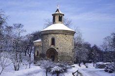 The Romanesque Rotunda of St Martin at Vysehrad near Prague (c)Prague Tourism
