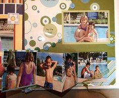 Scrapbook Page  Layouts That Lift, Pull, and Open: Accordion Books on Scrapbook…