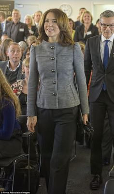 Crown Princess Mary of Denmark attended ceremony of the Women's Board Award 2015 on 30th January 2015.