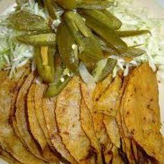 Tradicionales Tacos de Canasta