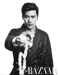 Kim Kang Woo - Harper's Bazaar Magazine February Issue '13
