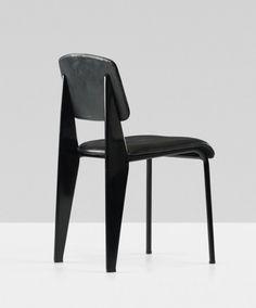 Metropole chair, model no.306, Manufactured by Les Ateliers Jean Prouvé, France., c.1950