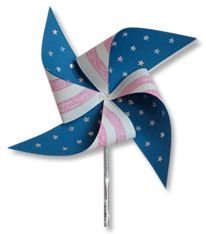 Patriotic Pinwheel for memorial day