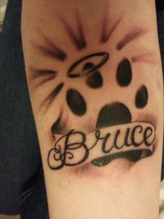 my dogs memorial tattoo i miss my boo x. Black Bedroom Furniture Sets. Home Design Ideas
