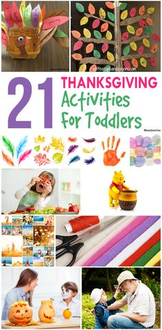 21 Thanksgiving Activities For Toddlers/Preschoolers: Here, we look at some Thanksgiving activities for toddlers and preschoolers.
