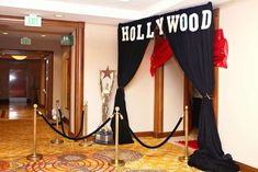 Glad A's Office Party / Hollywood/Bollywood Theme corporate event - Photo Gallery at Catch My Party Deco Cinema, Oscar Verleihung, Hollywood Birthday Parties, Movie Night Party, Movie Nights, Red Carpet Party, Dance Themes, Hollywood Red Carpet, Office Parties