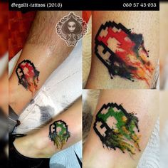#gegollitattoo #watercolor #watercolortattoo #albania #albanian #albaniatattoo #tattooed #dynamicink #dynamicblackink #eternalinktattoo #brothersister #supermario #luiggisupermariobros#mushroom #mushroomtattoo by gegolli_tattoos