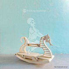 Лошадка-качалка Hipocampo от Pedro Cerisola