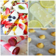 Healthy Cool Treats for Hot Summer Days