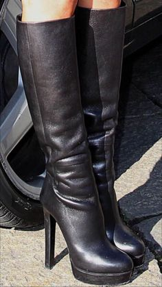 Just stunning shoes Ankle Boots, High Heel Boots, Heeled Boots, Platform High Heels, Black High Heels, High Leather Boots, Stiletto Boots, Sexy Boots, Sexy Heels