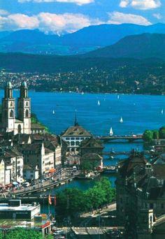 Zurich, Switzerland. Dream place -- just bought my ticket (!!!)