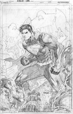 Justice League #1 variant cover by Jim Lee