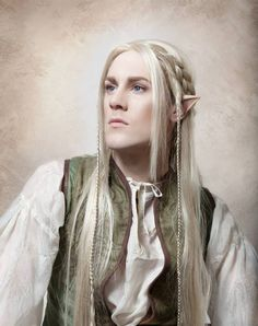 David Ian Hencher - An Elven Midsummer - Enchanted Elements Photography Dnd Elves, Lotr Elves, Elf Cosplay, Elf Costume, Party Costumes, Medieval, Forest Fairy Costume, Elf Hair, Snow Elf