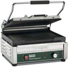 WARING COMMERCIAL WPG250B Large Panini Grill,208V