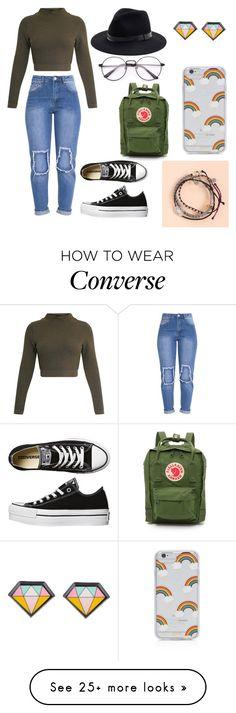 """Converse n' Green Kind Of Chíc"" by malynda-hine on Polyvore featuring Converse, Fjällräven, Pura Vida, Sole Society and Sonix"