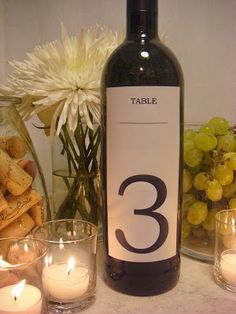 San Francisco Wedding Planner » DIY Wine Themed Centerpiece