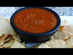 Recetas de Salsa de Chipotle, Salsa de Chile Seco y Salsa de Molcajete