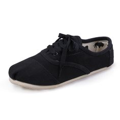 Chalaza Black Womens Cordones Toms Shoes