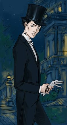 """Will(""""the Infernal Devices"""" by Cassandra Clare)Sure took me a long time getting down to drawing the guy -_-"""