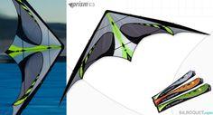 E3 Prism Kites - Cerfs-volants pilotables 2 lignes - Cerf-volant acrobatique - Prism Kites - Cerf-volant de freestyle - 195€ - Frais de port offerts
