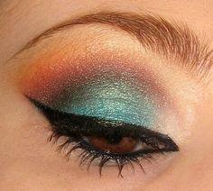 .it's like a peacock eye!