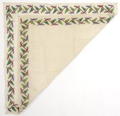 Crimean Tatar or Ottoman Embroidered Textile. (item #1019422, detailed views)