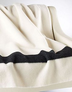 HBC Collections   HBC Collection   White Point Blanket   Hudson's Bay