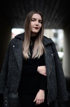 Leather Jacket, Coat, Jackets, Fashion, Studded Leather Jacket, Down Jackets, Moda, Sewing Coat, La Mode