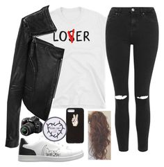 """""""Untitled #2240"""" by tokyoghoul1 ❤ liked on Polyvore featuring Topshop, Linea Pelle, ED Ellen DeGeneres, Nasty Gal and Nikon"""
