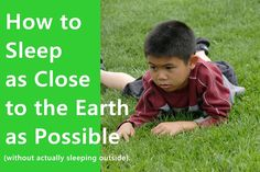 How to sleep as close to the earth as possible (without actually sleeping outside). Energy matters! #Nikken #Sleep #Healthy
