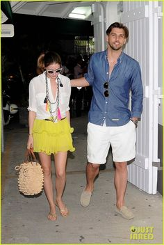 Olivia Palermo: Bikini Beach Day with Shirtless Johannes Huebl!