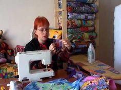 Лоскутное шитье для начинающих. Техника «колодец»