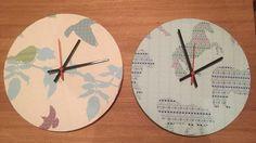 #clocks #fairislepatterns #handmade #textiles #print #printdesign #surfacepattern #shetland #ponies #starlings #birds #home #interior