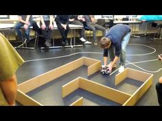 Final round: Lego Mindstorm competition - YouTube